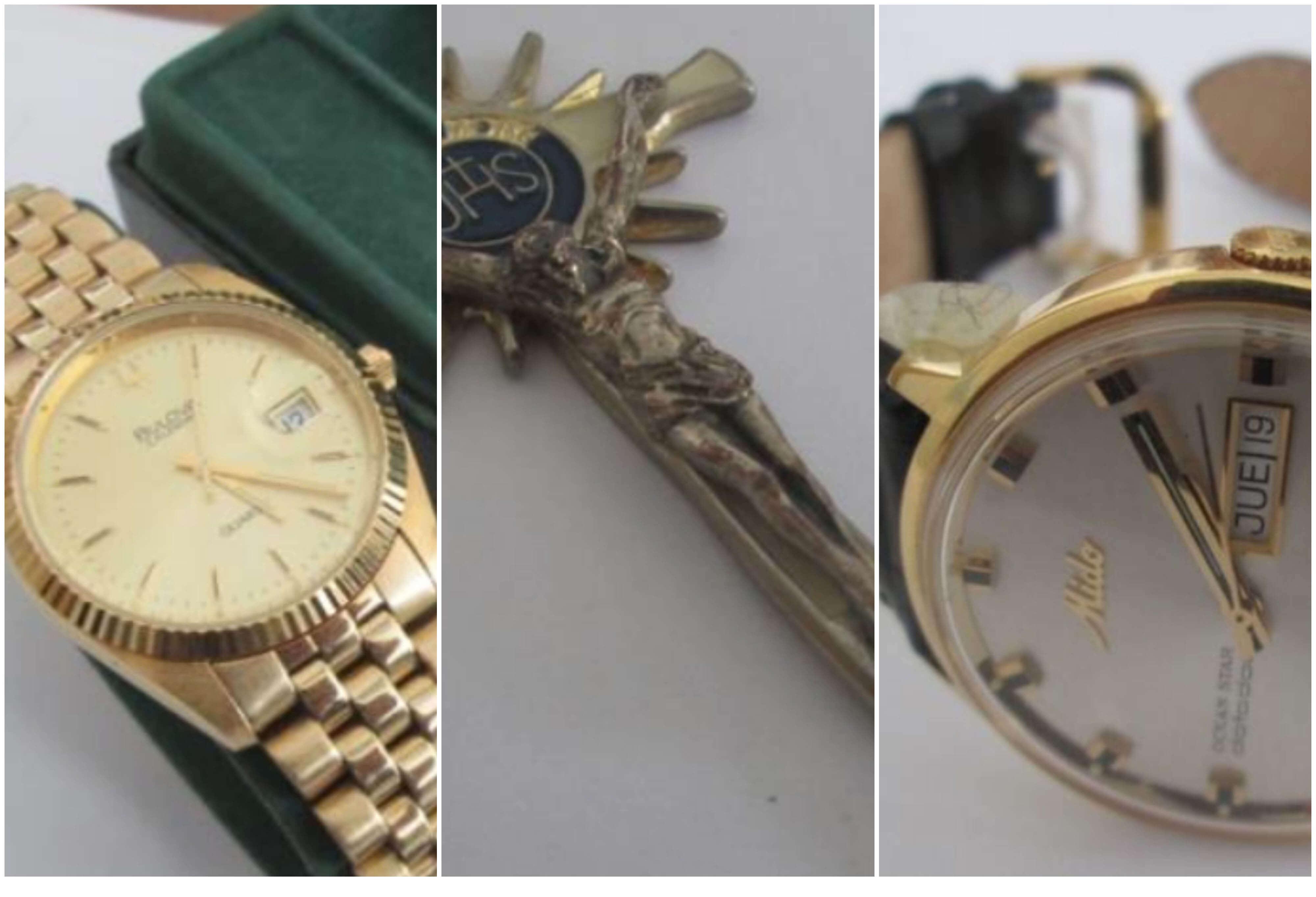 """En imágenes: Las joyas de alias """"HH"""" que subastarán para reparar a las víctimas"""