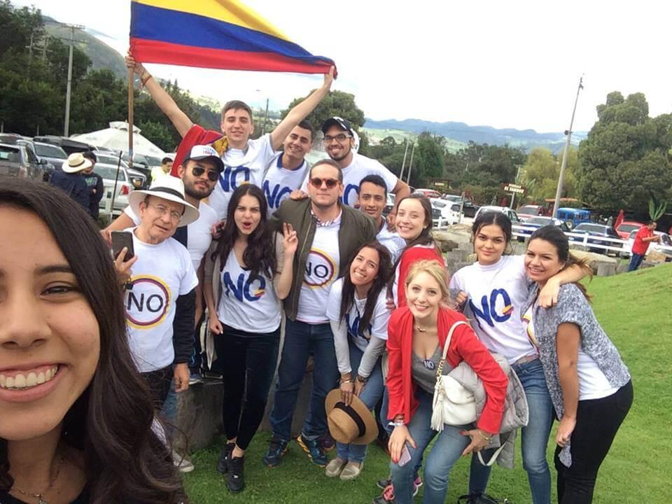 Ser universitario y promover el No: hablamos con algunos jóvenes