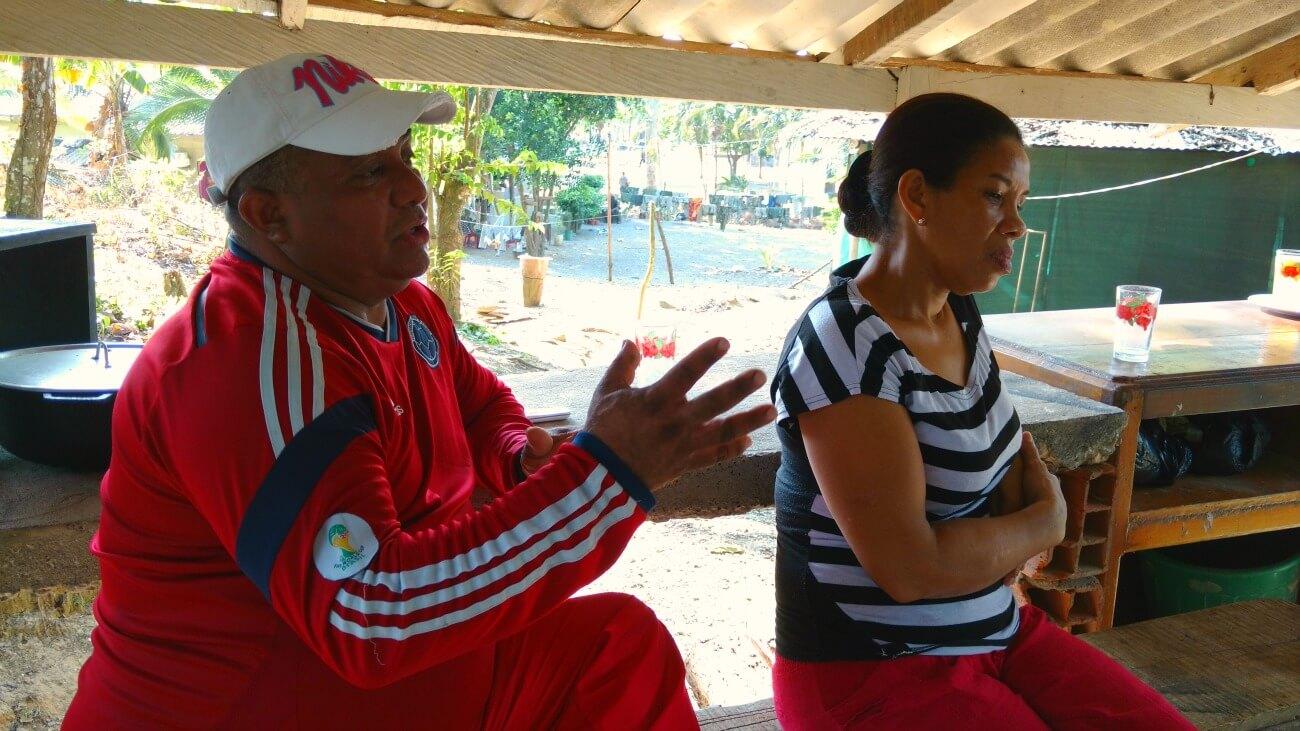 """El mensaje de """"Karina"""" y """"Samir"""" a las víctimas de La Chinita"""