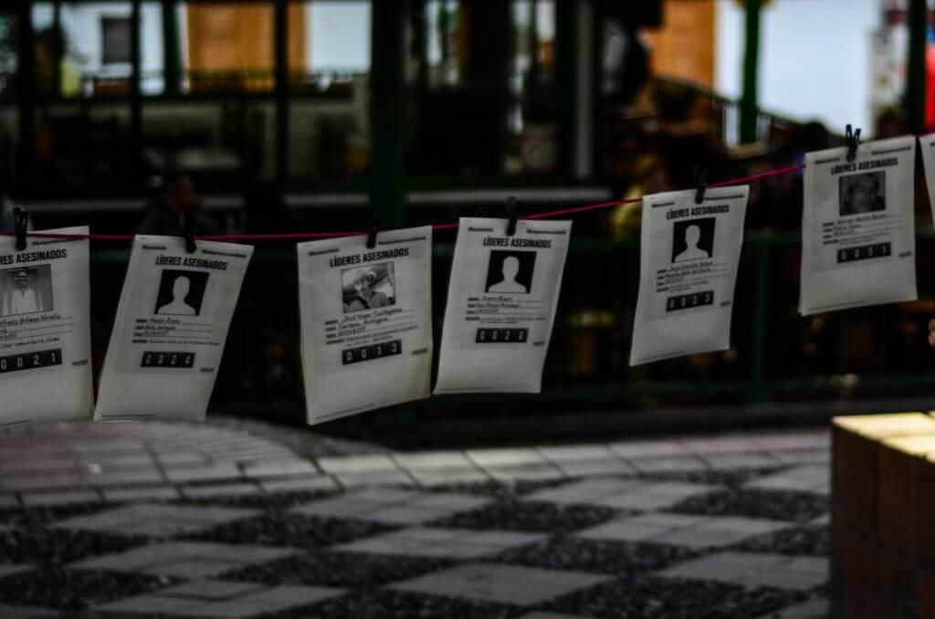 Cinco casos de líderes asesinados en los que estaría implicada la Fuerza Pública