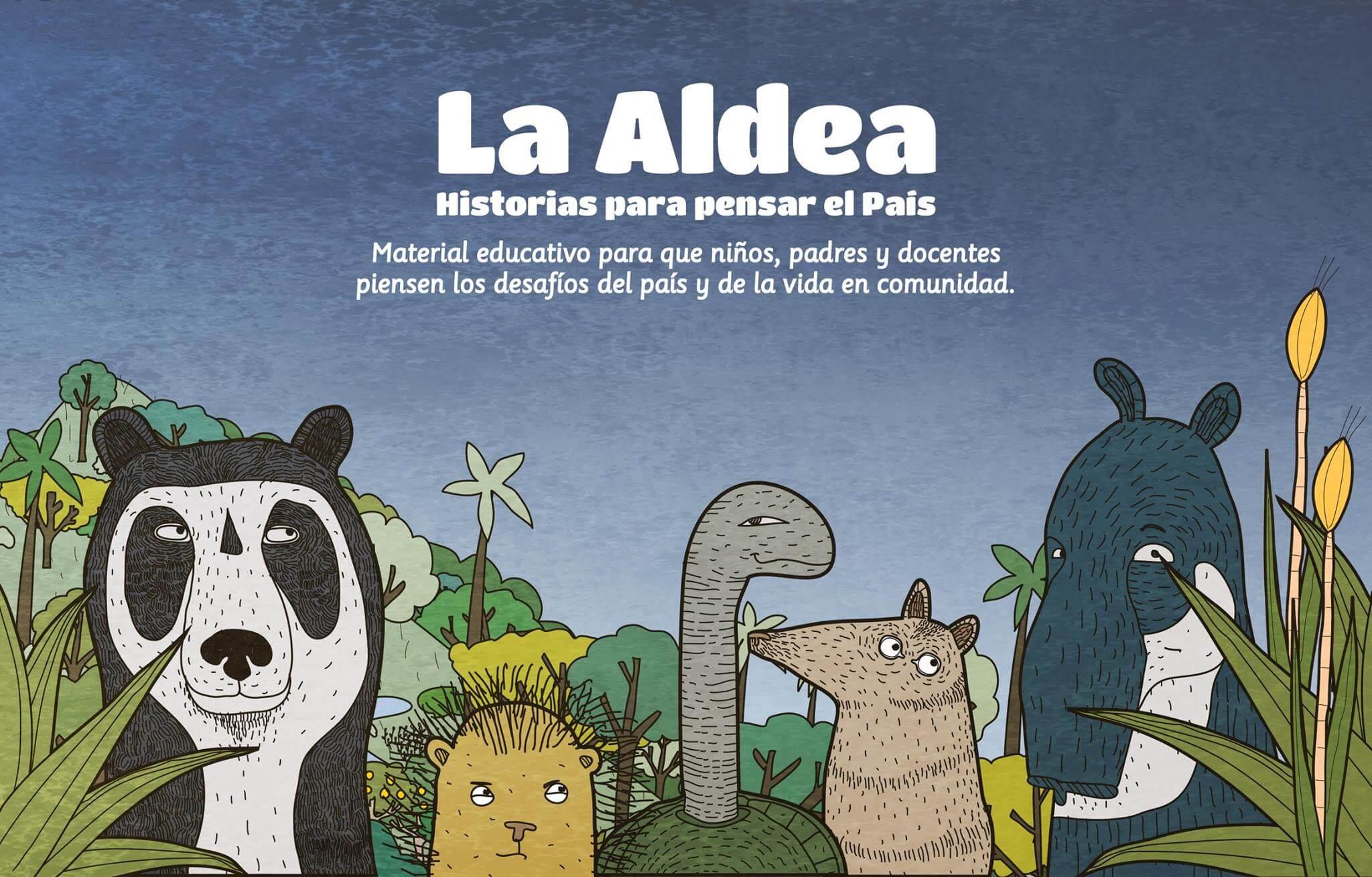 """""""La Aldea"""": una metáfora de Colombia para que los niños no repitan la historia"""