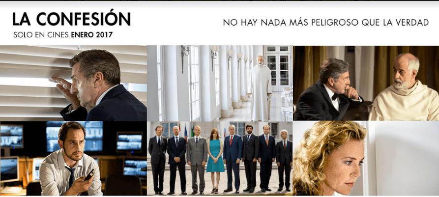La Confesión, una película sobre quién está detrás del poder
