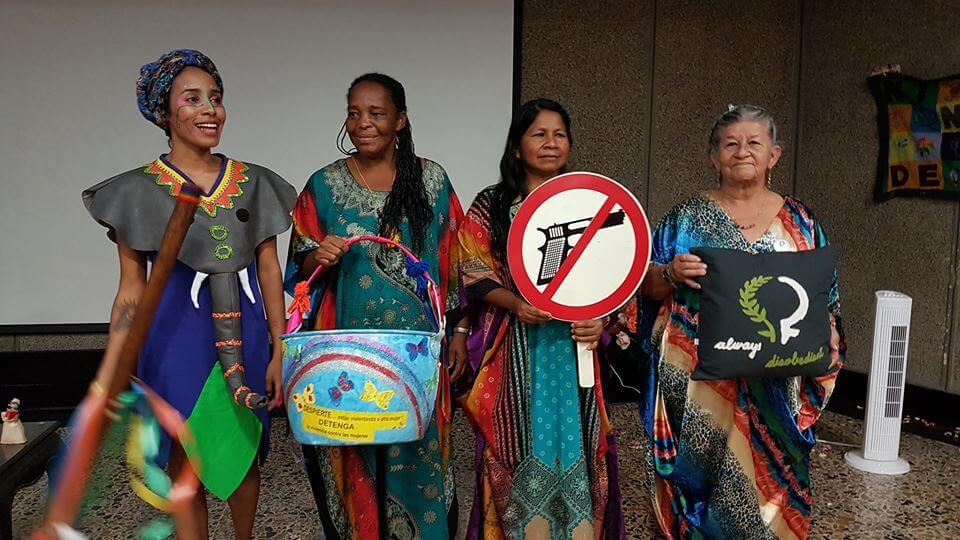 La Ruta de las Mujeres para sanar el dolor de la guerra a través del teatro
