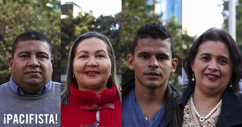 Cuatro líderes sociales nos contaron cómo vivieron 'el primer año de la paz'