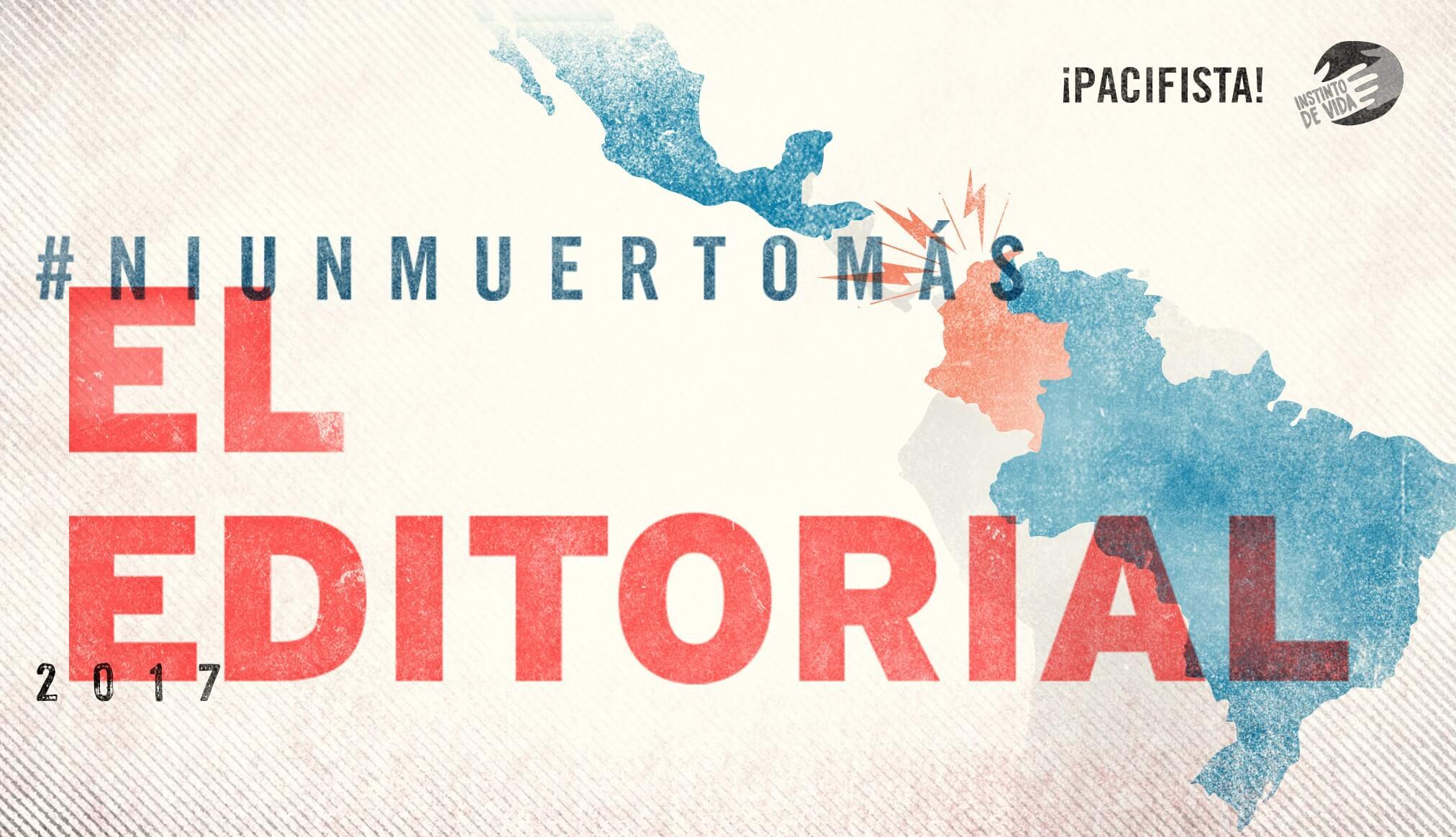Editorial: Los 11.000 colombianos asesinados cada año tienen que dejar de ser parte del paisaje