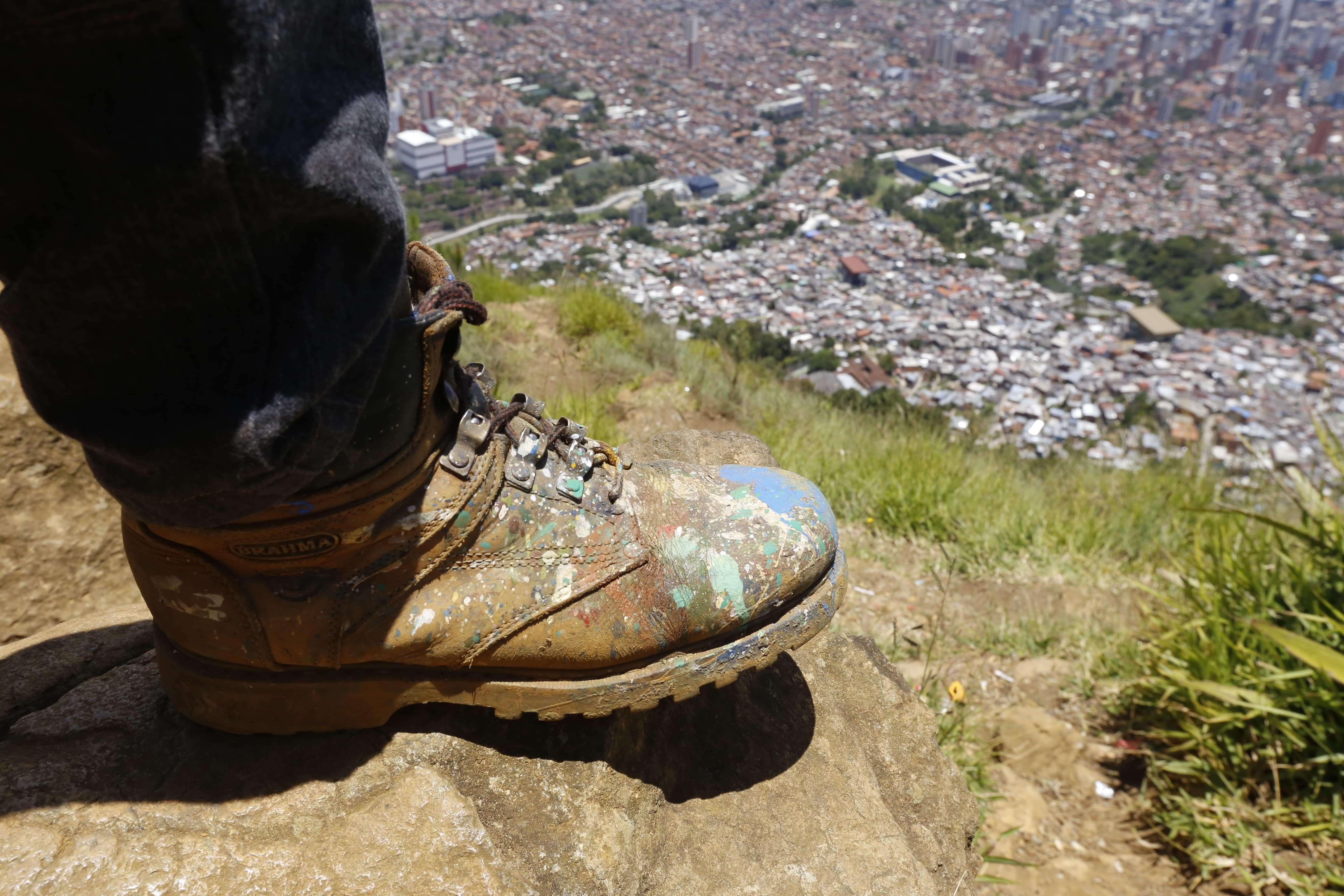 Los grafitis de El Faro, esa resistencia que Medellín aún no conoce