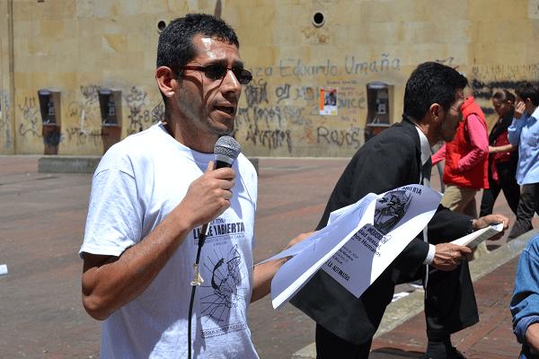 Miguel Ángel Beltrán, el profesor acusado de guerrillero, en manos de la Corte