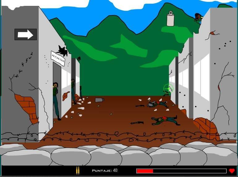 Los videojuegos que se inventaron las AUC: reclutar matando guerrilleros