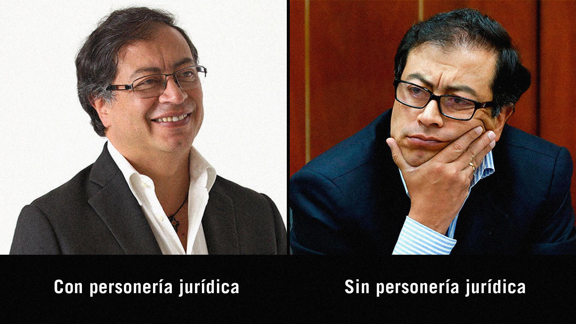 ¿Qué es eso de la 'personería jurídica' que tiene tan bravo a Gustavo Petro?