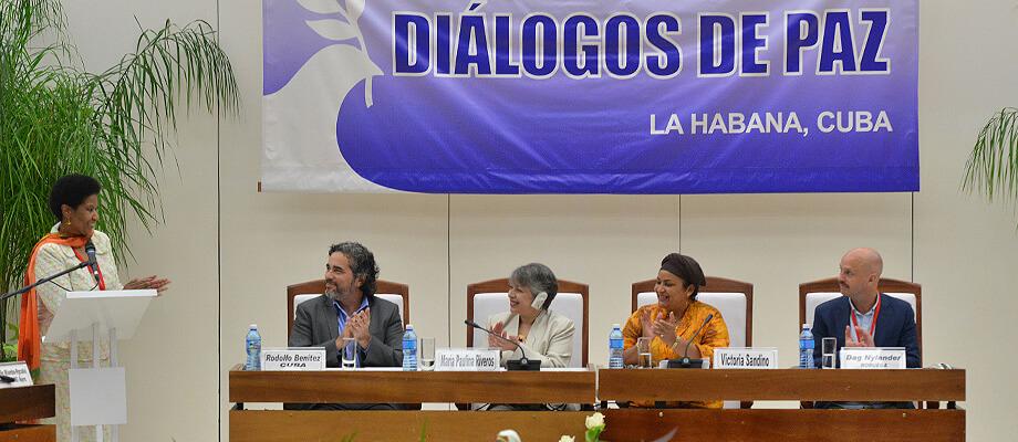 Esto fue lo que se pactó en La Habana para incluir a las mujeres en la construcción de paz