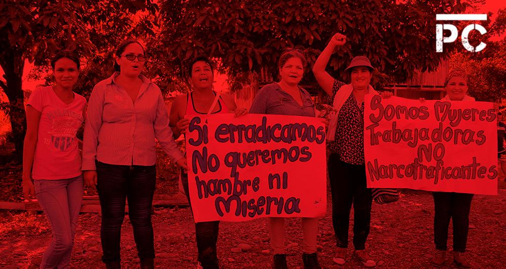 Fiscal: 'Mujeres cocaleras, sin beneficio por acuerdos de paz'