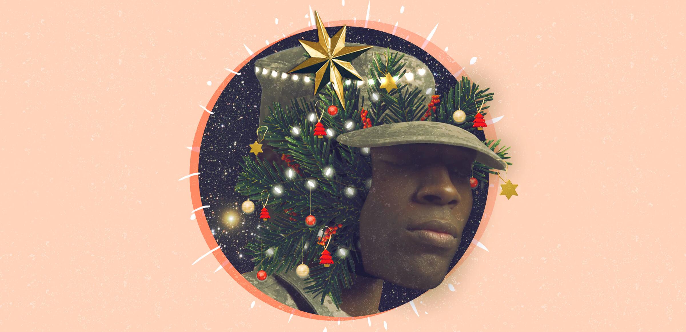 Así pasaban la navidad soldados y guerrilleros