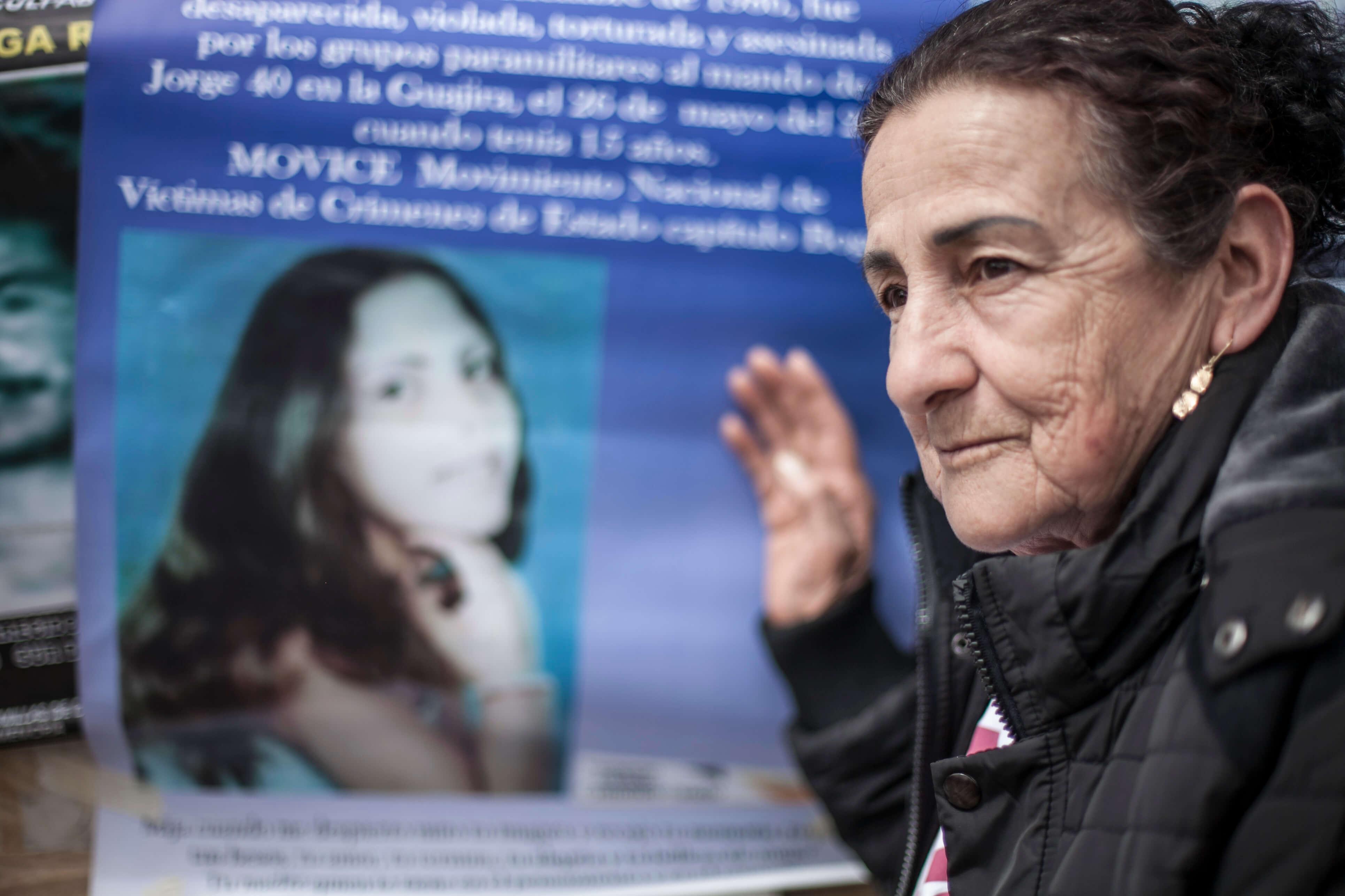 'Desde que asesinaron a mi esposo y a mi hija me siento perseguida'
