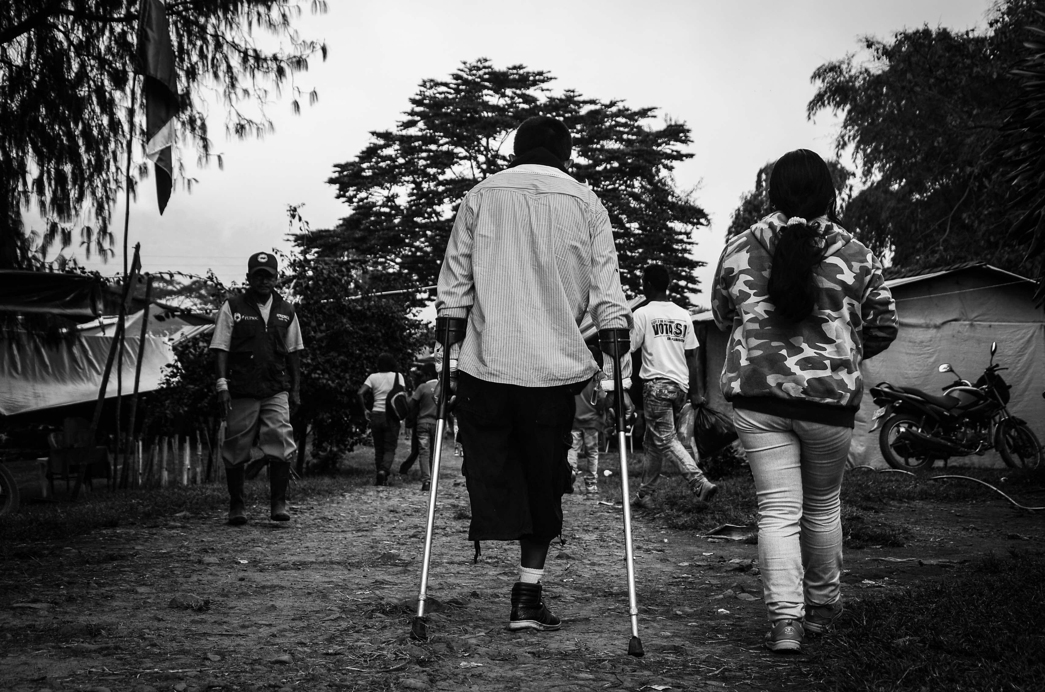 Opinión: ¿Le importan a este país los sobrevivientes de minas antipersonal?
