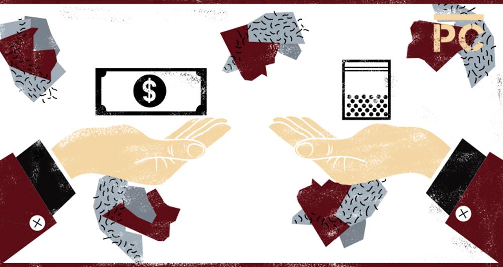 Infografía: así es el multimillonario negocio del narcomenudeo