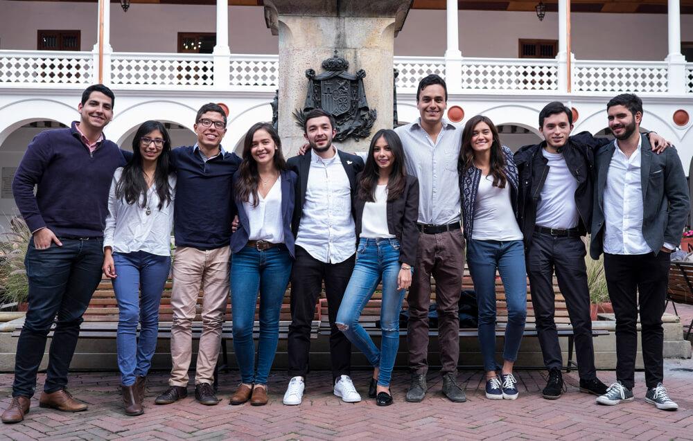 Un combo de la Universidad del Rosario que hace pedagogía de los acuerdos sin apostar por el SÍ