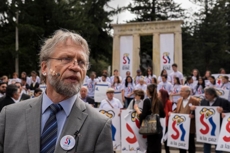'Con la Paz Renacemos', la propuesta de Antanas Mockus