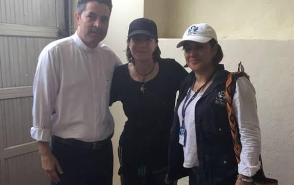 """""""Por un secuestro no cambio de opinión"""": las primeras palabras de Salud Hernández en libertad"""