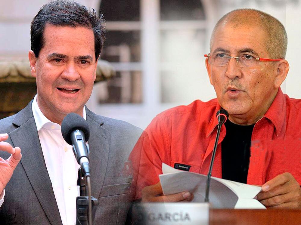 """Frank Pearl y """"Antonio García"""", los hombres del Gobierno y el ELN en el proceso de paz"""
