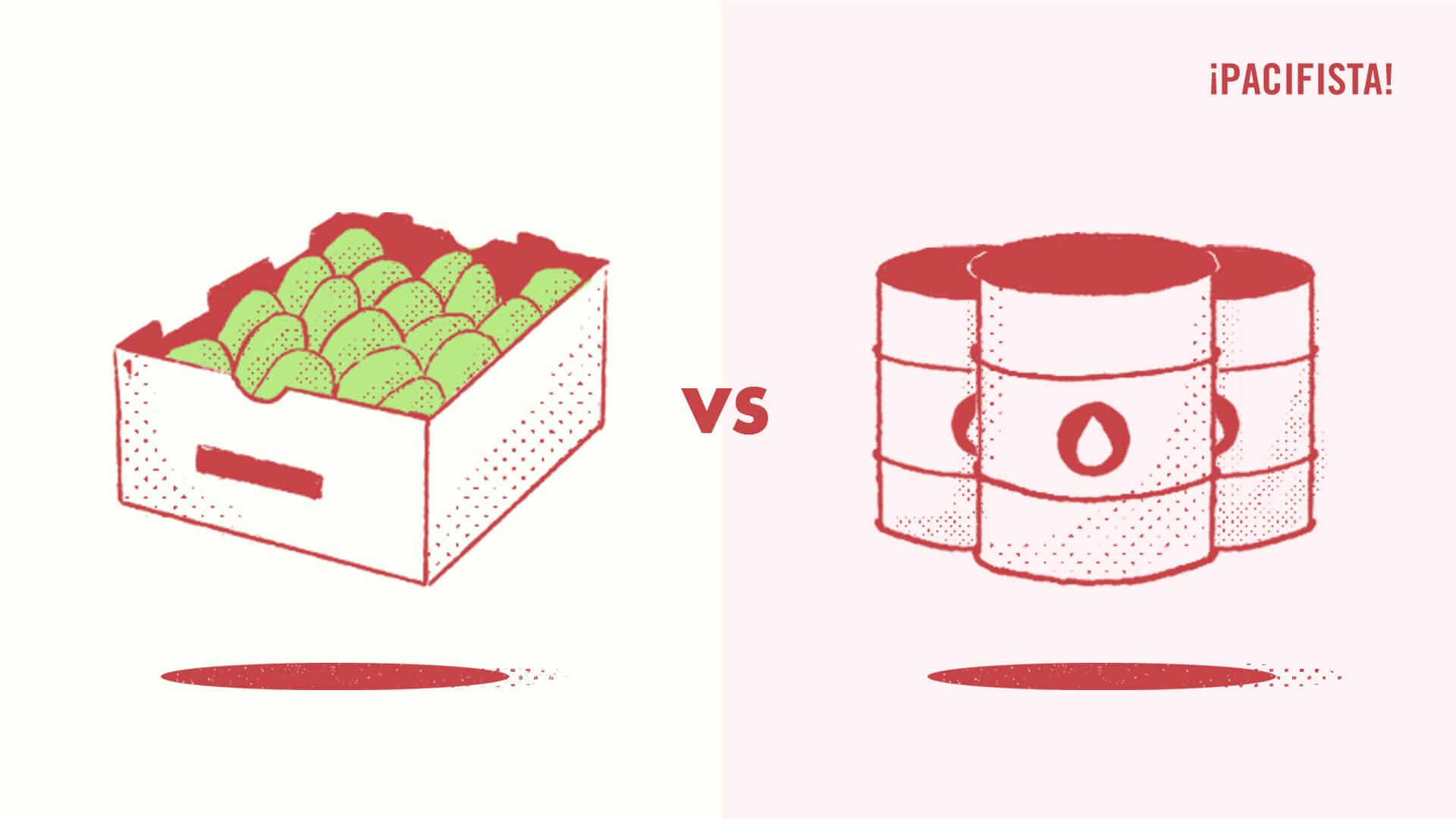 Infografía: ¿es mejor el aguacate que el petróleo para la economía?