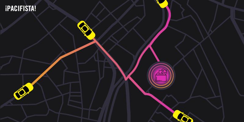 Me subí a cuatro taxis en Bogotá para hablar de las elecciones