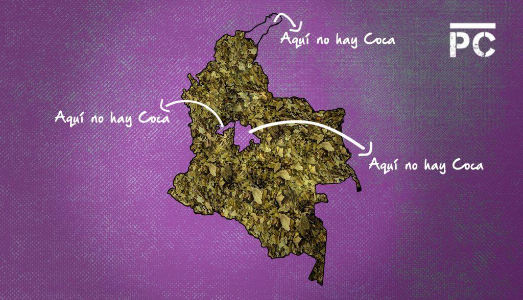 Cinco datos de la 'rajada' de Colombia en el informe de la ONU sobre coca