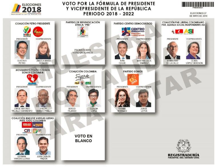 ¿A quién cree que le van los votos que Viviane Morales tenga el domingo?