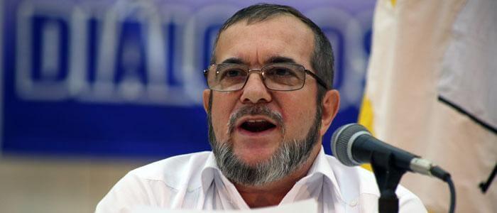 """Las cuatro cosas que reconoció """"Timochenko"""" en su carta a Álvaro Uribe"""