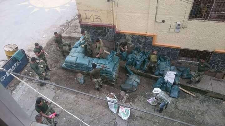 El Ejército puso de nuevo su trinchera. A Ituango se le pasó la alegría