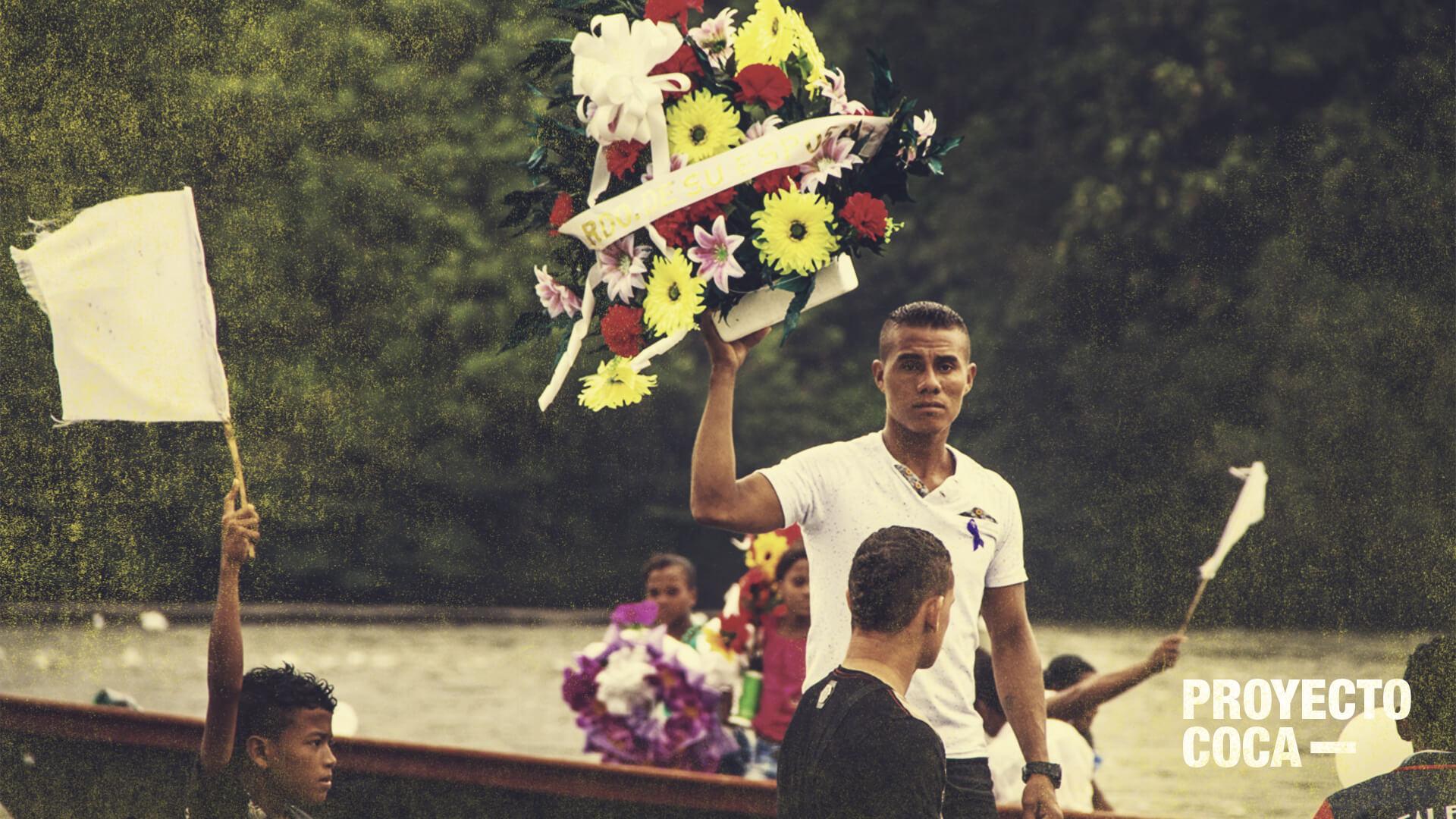 Tumaco: Así fue el funeral de uno de los campesinos asesinados