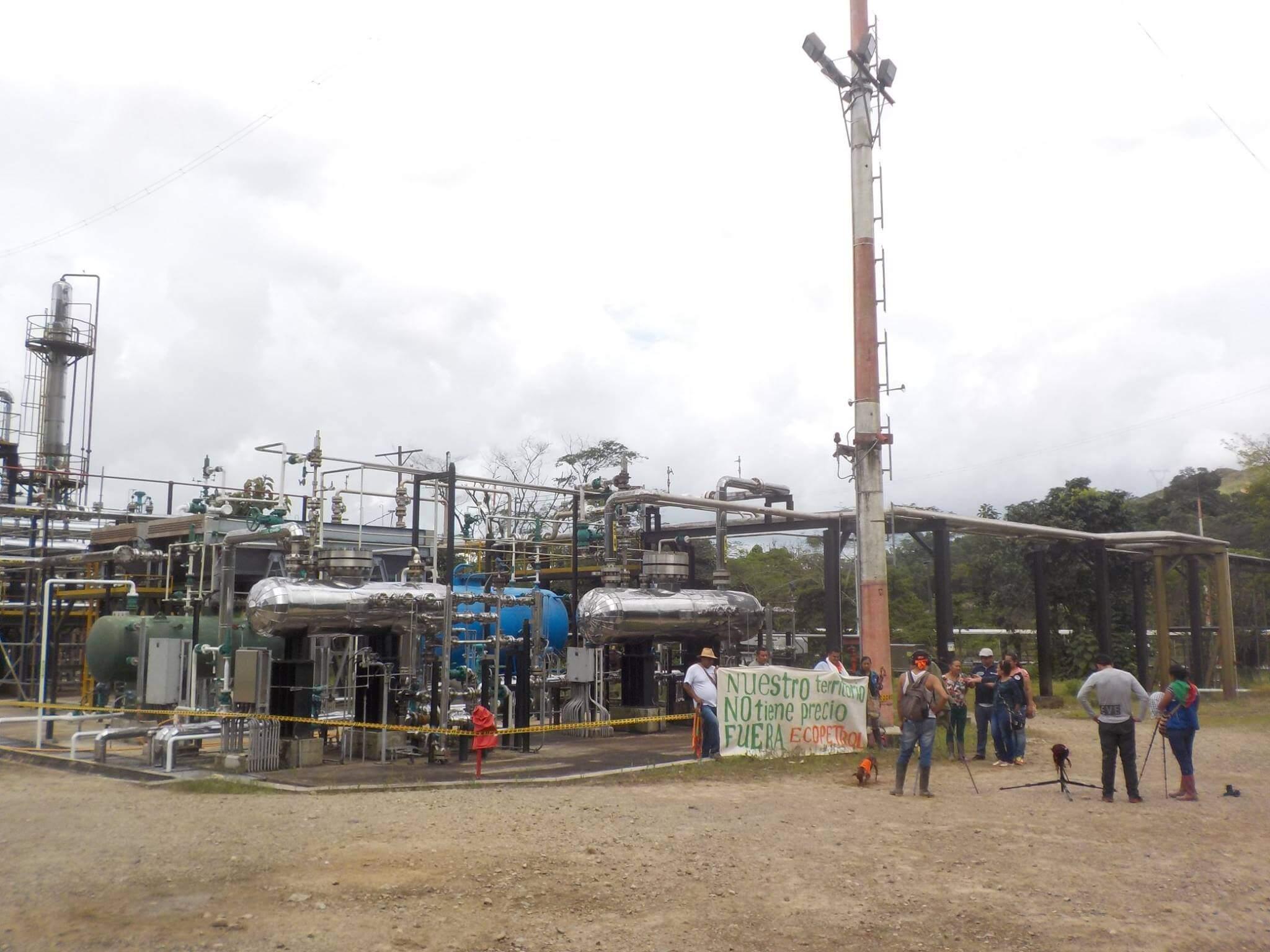 El acuerdo entre el Gobierno y los U'wa para levantar la toma de una planta de Ecopetrol