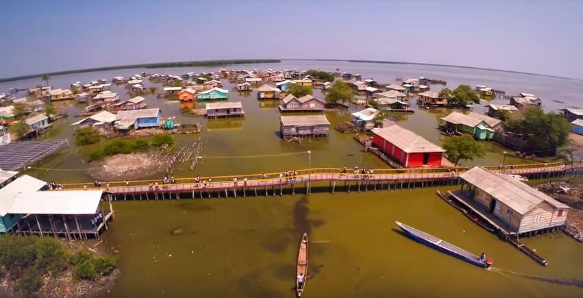 Los pueblos de la ciénaga de Santa Marta no son una ficción