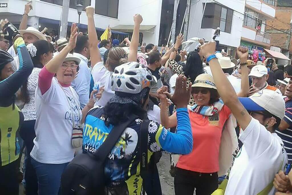 Así se vivió el triunfo del No en la consulta popular de Cajamarca