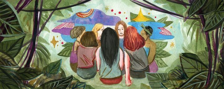 Están becando feministas para ir a tomar yagé al Amazonas