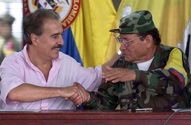 Las FARC: negociaciones pasadas