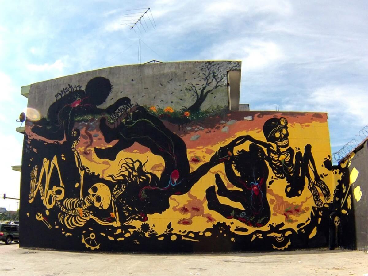 Chirrete Golden nos habla de graffiti y paz