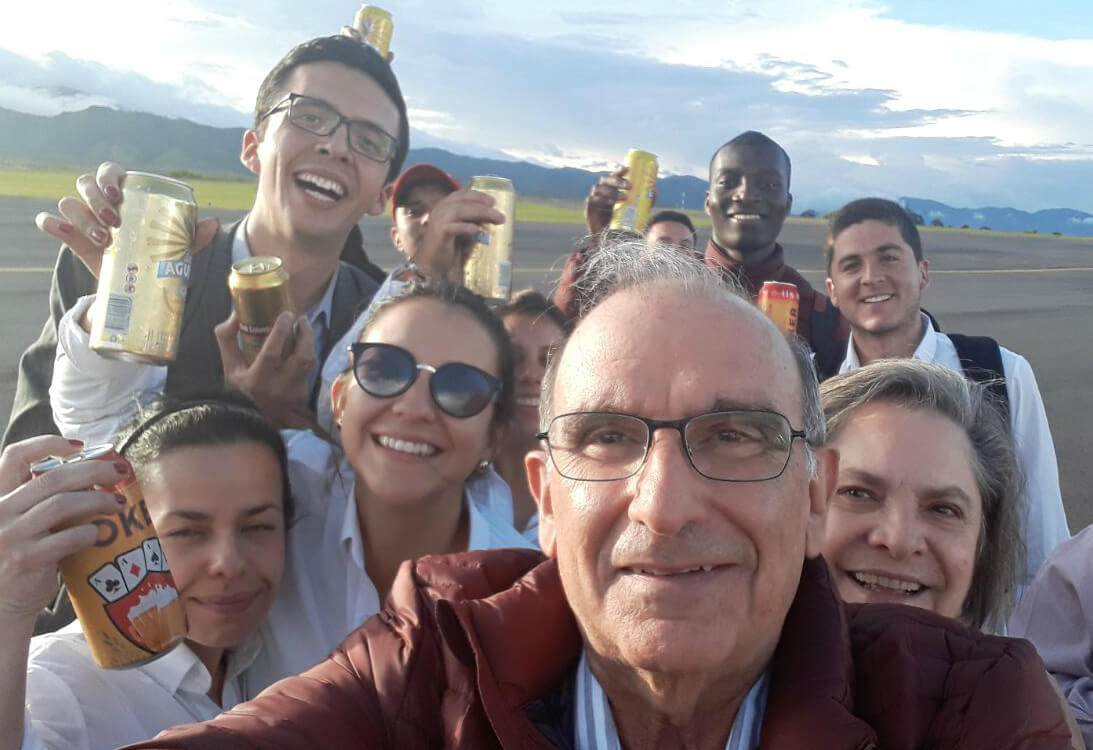 Humberto de la Calle, el youtuber de los diálogos de La Habana