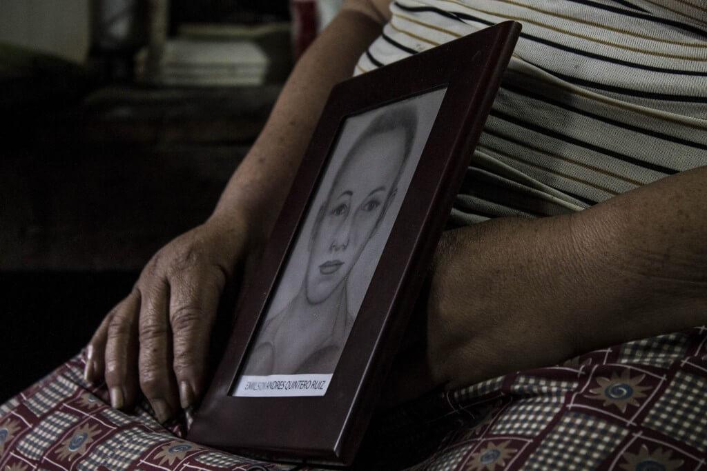 Una charla íntima entre familiares de desaparecidos