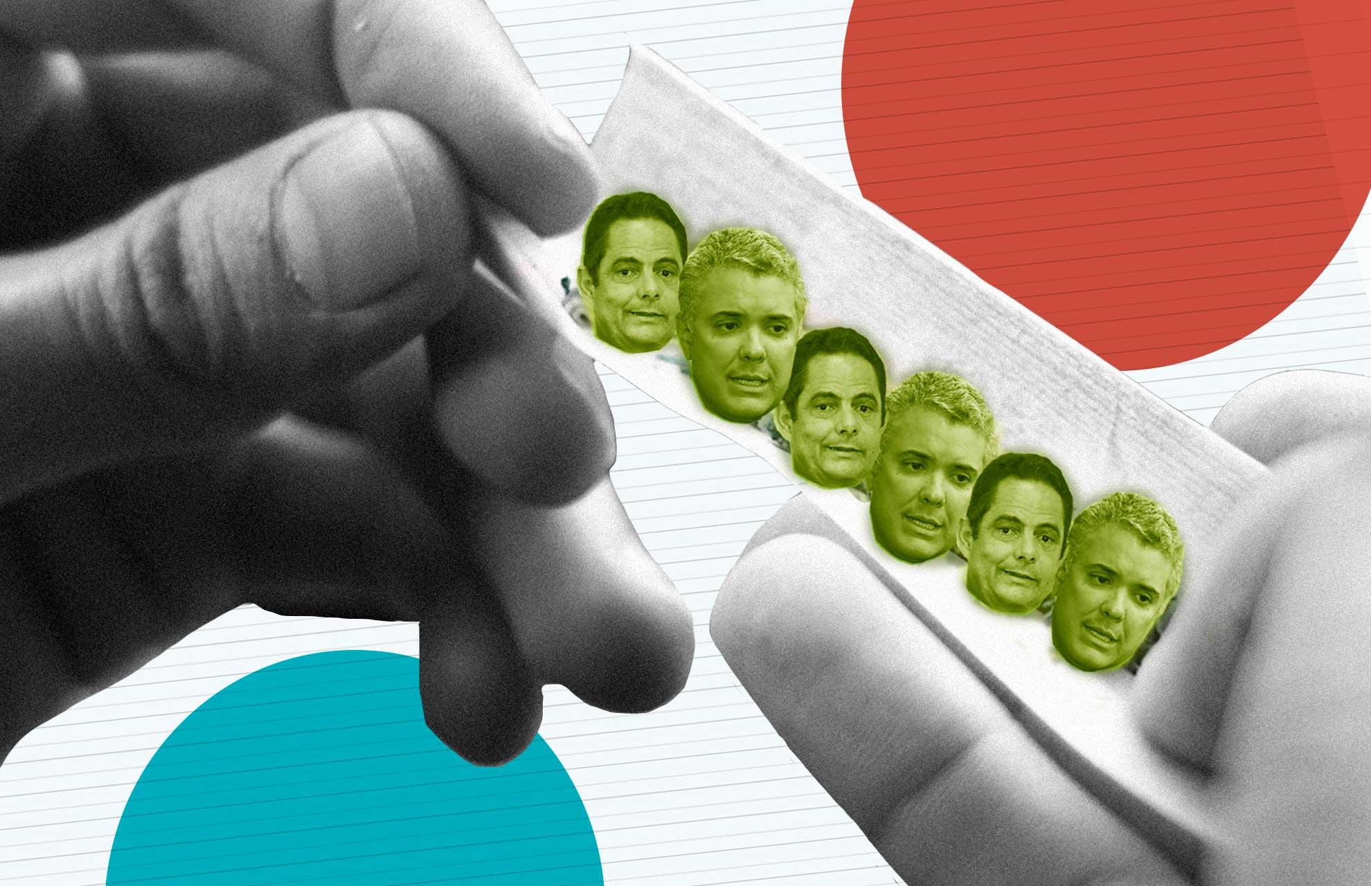 Duque y Vargas Lleras se rajan en el tema de drogas