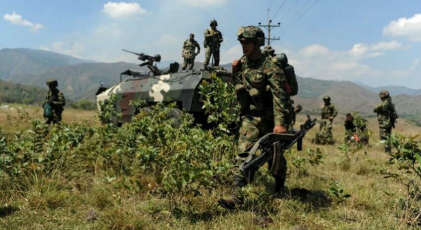 ¿Primera violación al cese al fuego? Dos guerrilleros muertos en el sur de Bolívar