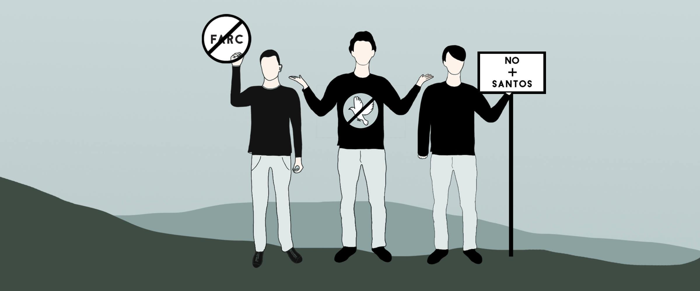 Hablamos con los 'haters' de la paz en redes sociales para entender sus argumentos