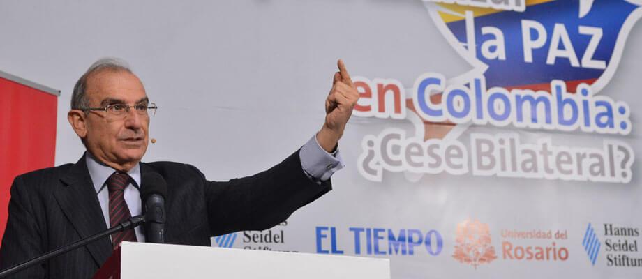 5 dudas sobre el cese bilateral resueltas por Humberto De la Calle