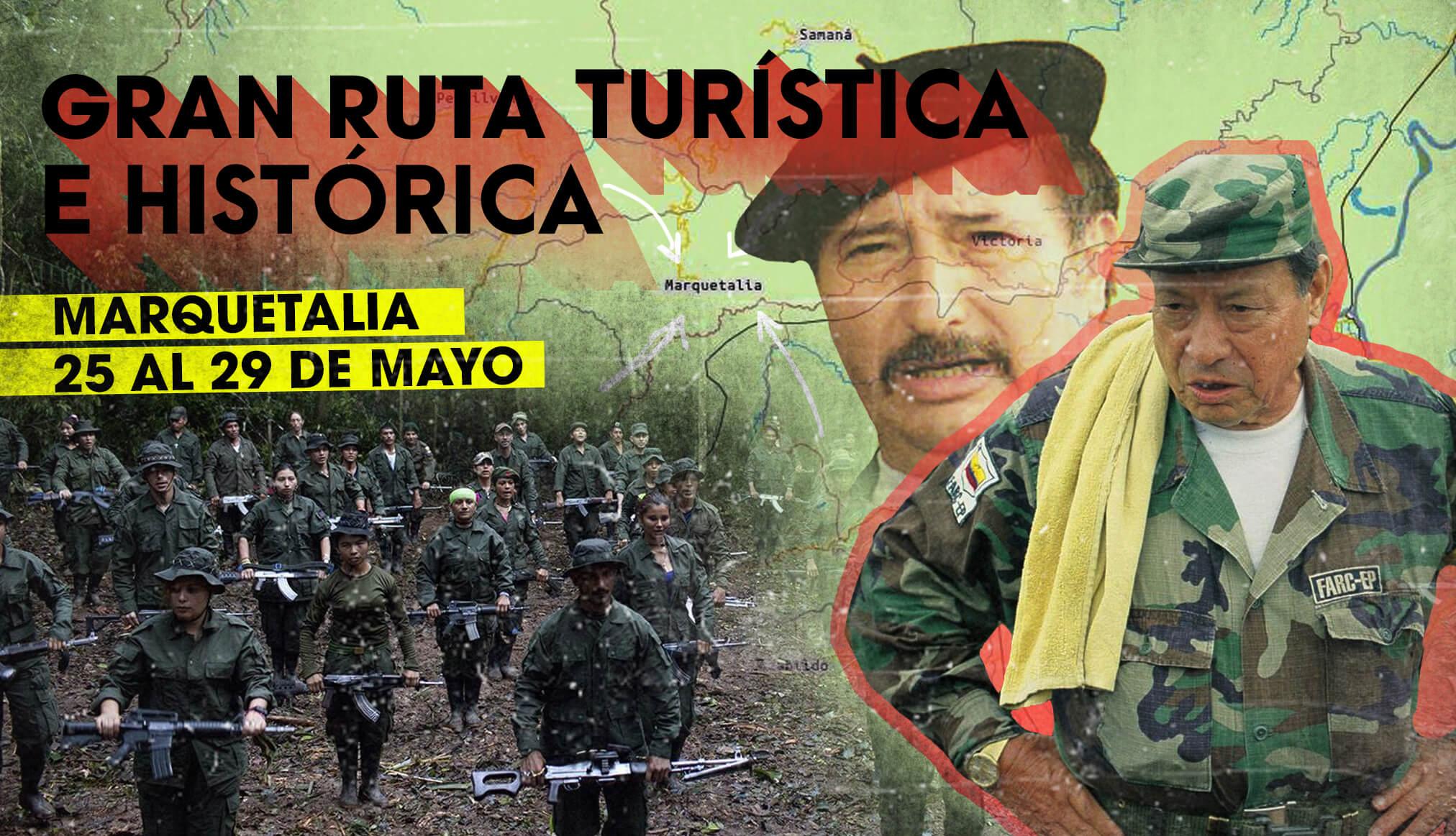 El tour de las Farc a Marquetalia: arranca el turismo histórico de la guerrilla