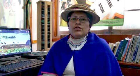 Conozca a la mujer que llevó la causa indígena del Cauca a Bogotá