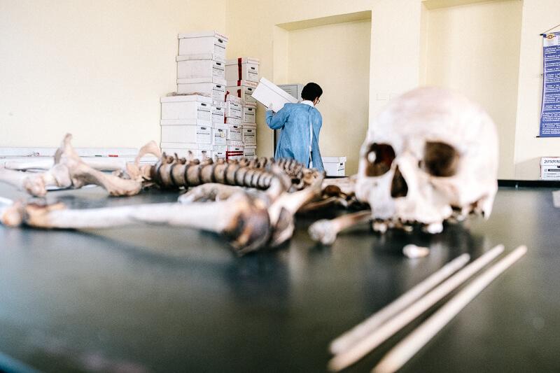 En imágenes: Entramos a los laboratorios donde les ponen nombre a los desaparecidos