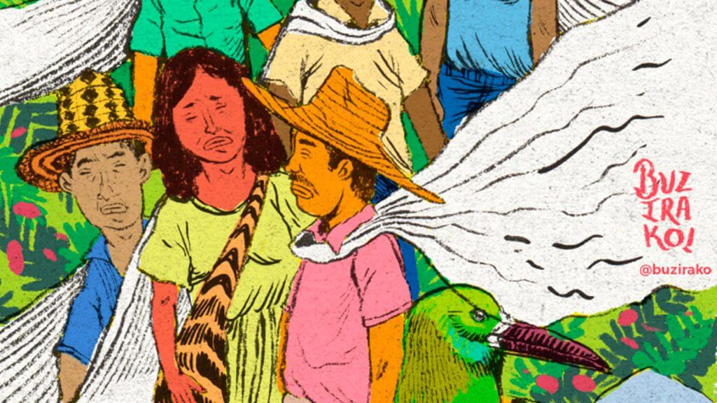 ¿Se animaría a ser ilustrador de los líderes sociales?