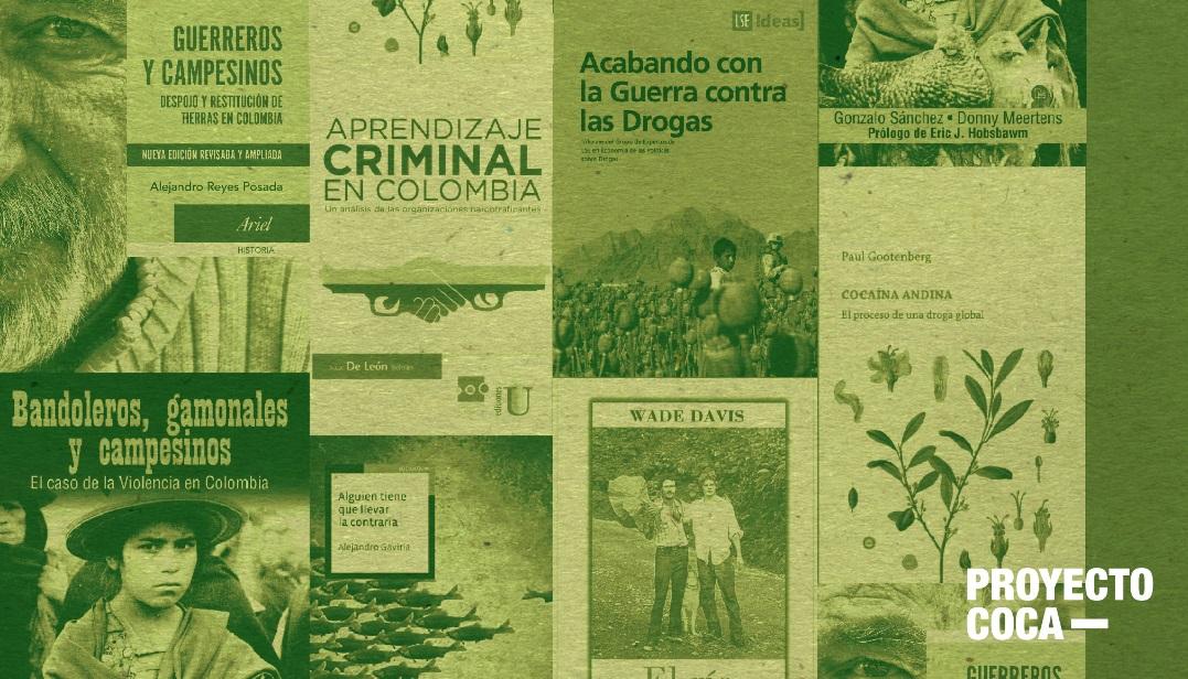 15 libros para entender el problema de la coca en Colombia