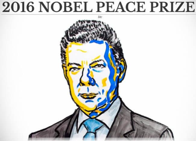 Santos gana el Nobel de Paz por un acuerdo al que Colombia le dijo No
