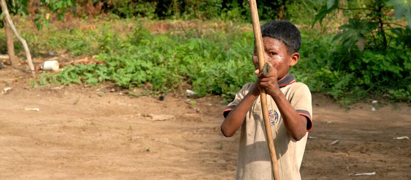 La guerra sería la mayor causa de suicidios indígenas