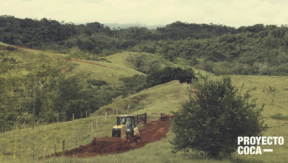 Cáceres: el pueblo que se despide de la coca gracias a las vías